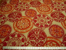 1 1/2 yards Sunbrella Bali Sunset Indoor - Outdoor upholstery fabric r2823