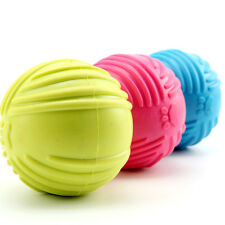 Dog Pet Puppy Fetch Chew Toy Durable Rubber Ball Fits Launcher Training
