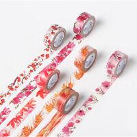 Fashion Washi Tape Decorative Masking Adhesive Paper DIY Craft Trim & 15mmx7m