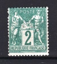 "FRANCE STAMP TIMBRE N° 62 "" SAGE 2c VERT TYPE I 1876 "" NEUF xx A VOIR  R731"