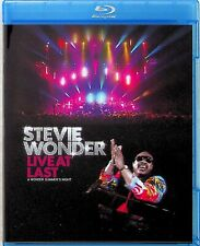 Stevie Wonder -Live At Last -A Summers Night Blu Ray *NEW (At The O2/Aisha)
