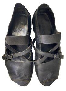 trippen Black Shoes
