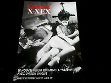 CERRONE/X-XEX/PLAN MEDIA RECTO VERSO/PRESS KIT/ML