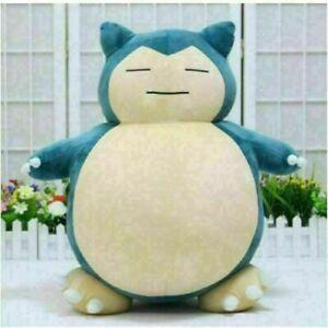 Big Jumbo Pokemon Snorlax Plushie Pillow Cushion Plush Doll Toy Gift 30cm New