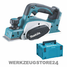 Makita DKP180 Akku-Hobel 82 mm 18 V - ohne Akku & ohne Ladegerät im MAKPAC