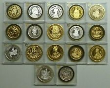 More details for millionaires collection sterling silver examples of rare hammered coins see menu
