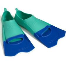 Zoggs Unisexs Ultra Blue Fins Swim Training Aid for Improved Technique, Grey, E