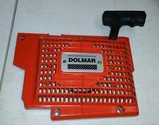 dolmar ps9010 ps 9010 flywheel cover recoil pull start starter w/ bolts
