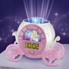 Alarm Clock for Kids Teens Projection Digital Radio Princess Night Light Room