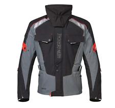 Hein Gericke Bormio sheltex Jacke wasserdicht Fb. grau/rot Gr.60 UVP: 299,95€