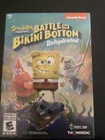 SpongeBob SquarePants: Battle for Bikini Bottom Rehydrated | PC   (NEW & SEALED)