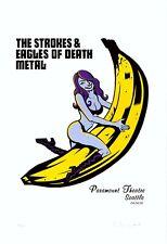 MINT & SIGNED Strokes EoDM 2006 Paramount Seattle Hampton/Warhol Poster 74/150