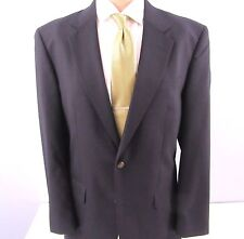 Jos A Bank Navy 100% Worsted Wool Suit 38 L