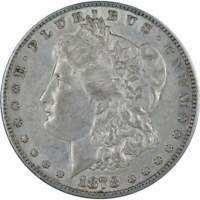 1878 S Morgan Dollar XF EF Extremely Fine 90% Silver $1 US Coin Collectible
