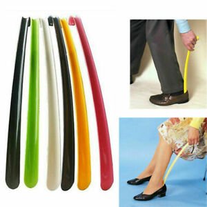 Long Plastic Shoe Horn Shoe Boot Remover Mobility Aid Easily Slip On Shoes