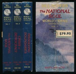 Mystic Fire Video World of Ideas Anthology Vol 1 NATIONAL SOUL Bill Moyers Box
