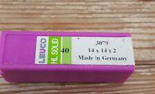20 Stück Leuco - Dur  HL Board Wendeplatten , 14 x 14 x 2 mm