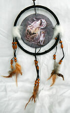 Howling  Wolves Design Dreamcatcher / Wolf Dream Catcher - BNIB