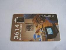 telecarte 3614 minitel 50u ref phonecote F290Aa