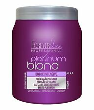 BOTOX PLATINUM BLOND MATIZADOR Forever Liss Professional 34oz 1000ml