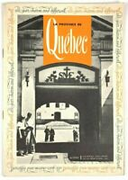 Vintage La Province De Quebec Travel Tourism Booklet Photo Illustrations