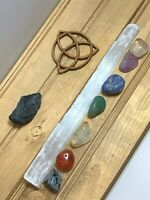 7 Chakra Crystal Activation Kit | Reiki | Natural Gemstone | Energy Healing