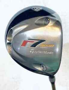 USED TaylorMade R7 Quad Driver  9.5° Fujikura Rombax Shaft  Reg  RH