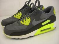 Men's 11 Nike Air Max 90 Essential Dark Grey Volt Sail Running Shoes 537384-007