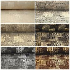 Jacquard Chenille Fabric Upholstery Decorative Sold by the Meter Font