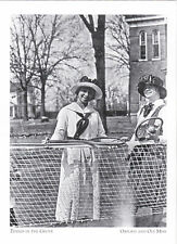 "*Postcard-""Tennis at The Grove"" (Before Concrete Courts) *Oxford & Ole MS (#236)"