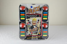 Buzz The Hollywood Quiz - Sony Playstation 2 / PS2 - Brand New with 4 Buzzers