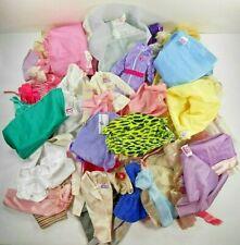 Barbie Vintage Fitting Mod 80's 90's Tlc Lot 50+ Clothes Disney Lucky Clone Etc