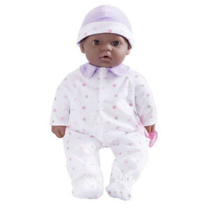 JC TOYS 15031 16IN BBY DOLL PRPL AFRICAN-AMERICAN