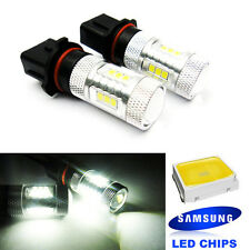 2 SAMSUNG P13W PSX26W High Power 15W LED Projector DRL Daytime Running For AUDI