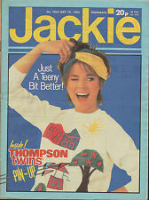 Jackie Magazine 19 May 1984 Issue 1063   Thompson Twins  Swans Way  Keith Deller