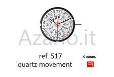 mouvement à quartz Ronda 517 mouvement quartz pour montre montres Suisse