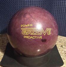 Power GROOVE PROACTIVE Plum Bowling Ball 13# LBS