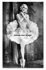 rp10563 - Russian Prima Ballerina , Anna Pavlova - photograph 6x4