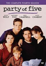 PARTY OF FIVE: THE COMPLETE SEASON 4,5 and 6 Region Free DVDs - Sealed