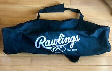 Rawlings Black Baseball/Softball Equipment, Bat and Helmet Soft Sided Bag