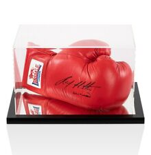 Ricky Hatton Signed Boxing Glove Red Lonsdale - In Acrylic Display Case