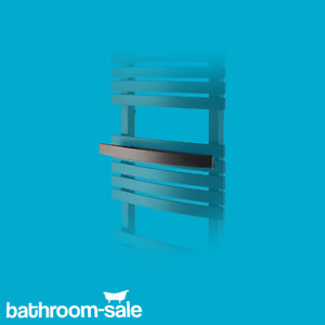 Scuro Bathroom Radiator Towel Rail - Black | RRP: £49
