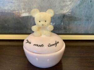 Dutch Teeth Keepsake Porcelain Box Baby Girl Mijn eerste tandjes opberg potje