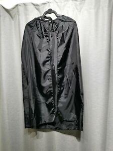 S60 black halloween fancy dress cloak purpose made cape childs