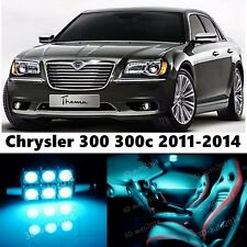 13pcs LED ICE Blue Light Interior Package Kit for Chrysler 300 300c 2011-2016
