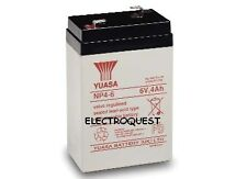 Yuasa 6 Volt 4AH Battery Electric Toy Car Genuine NP4-6