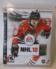 PLAYSTATION 3 NHL 10 EA SPORTS PS3 GAME , BOOKLET & DISC , CLEAN USED SONY 2009