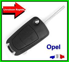 Coque Télécommande Plip Bouton Clé Opel Antara Corsa Insignia Meriva+Lame Vierge