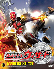 DVD Anime Kamen Masked Rider Wizard Vol. 1-53 End Complete Series Ship FREE! NEW
