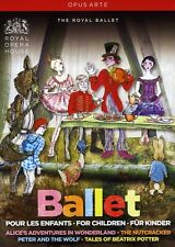 Ballet For Children (2012, DVD NUEVO)4 DISC SET (REGION 1)